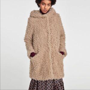 Zara Fur Jacket | Coat